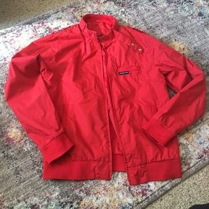 Members only jacket M/L red